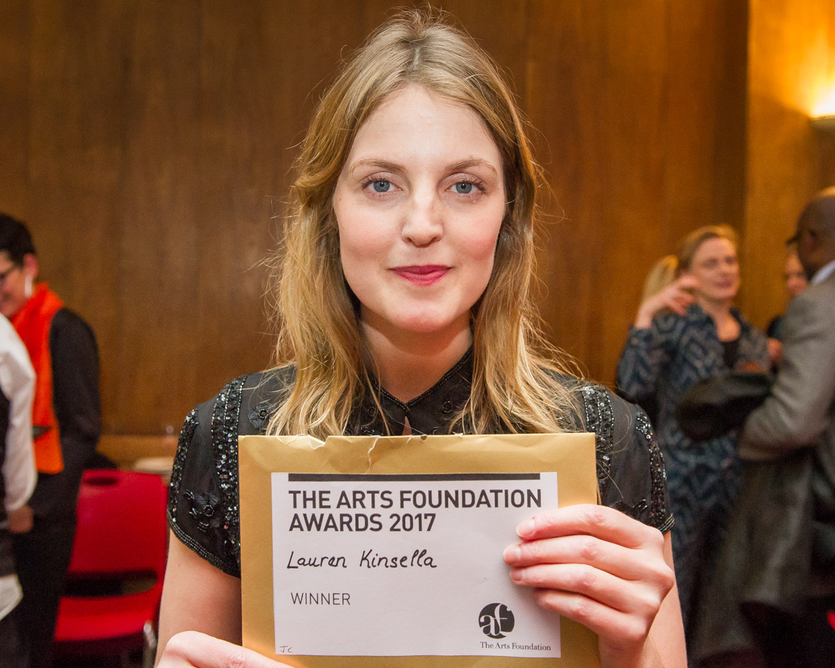 NEWS: Lauren Kinsella wins Jazz Composition Award, Arts Foundation
