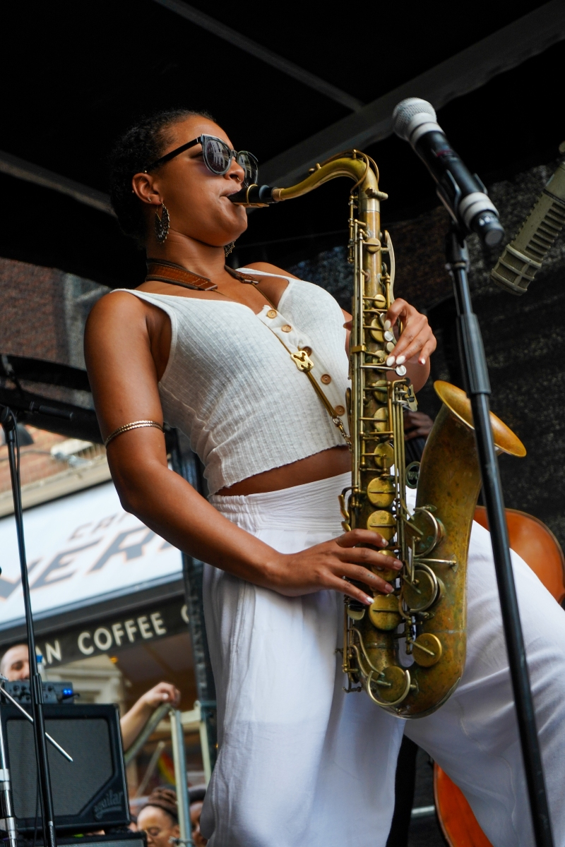 5000 gather for Ronnie Scott's 60th anniversary street party