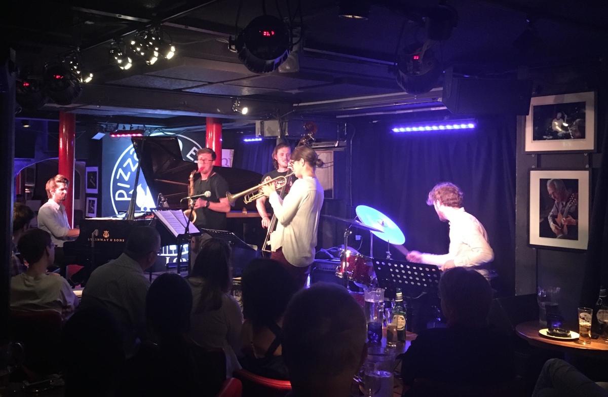 Alex Hitchcock Quintet at Pizza Express Jazz Club