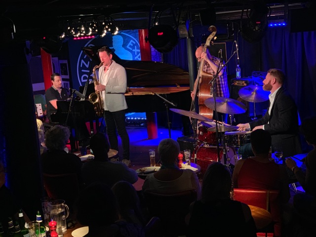 Paul Booth Quartet (Travel Sketches album launch) at Pizza Express