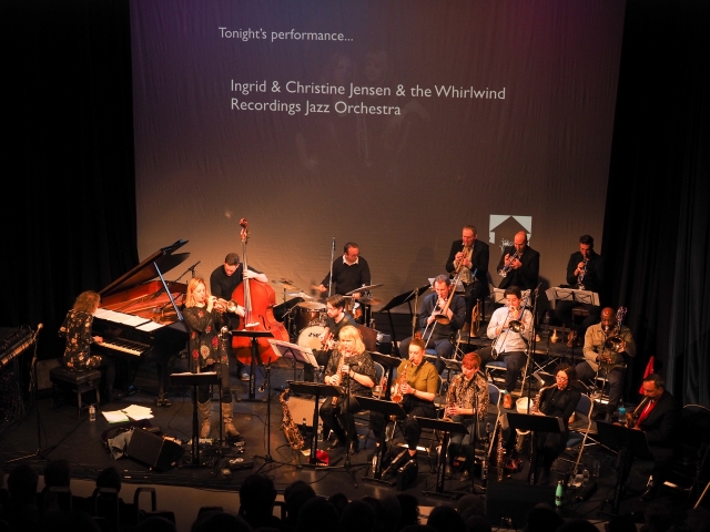 Ingrid and Christine Jensen + Whirlwind Orchestra in Nottingham