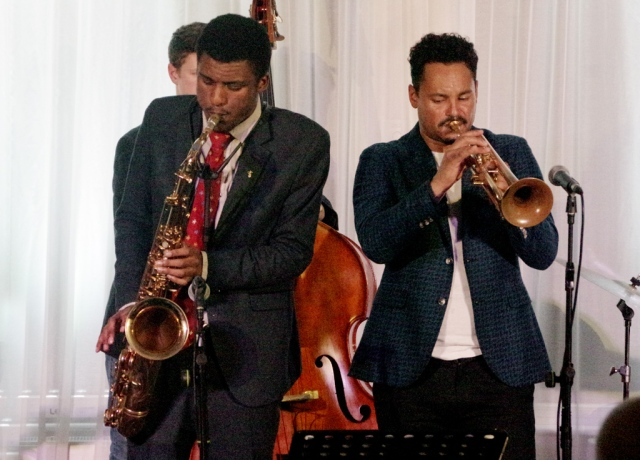 Xhosa Cole Quartet at Watermill Jazz Club, Dorking