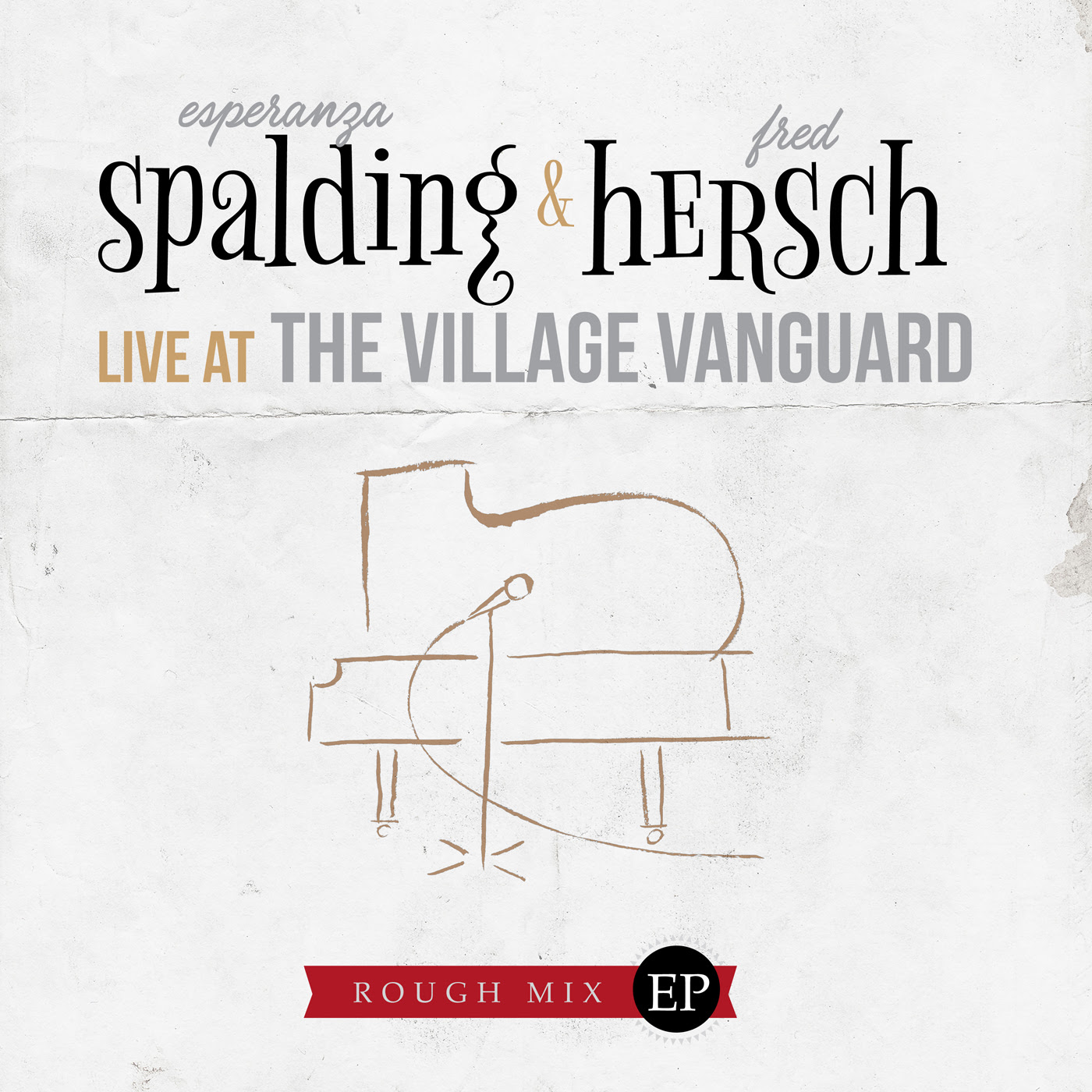 "Esperanza Spalding, Fred Hersch – ""Live at The Village Vanguard"" (Rough Mix EP/ Benefit Recording for the Jazz Foundation of America)"