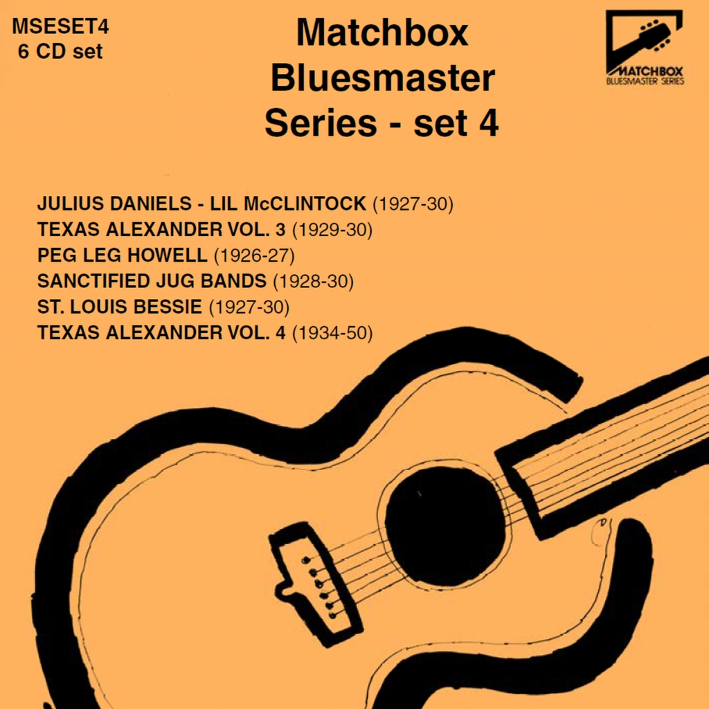 Matchbox Bluesmaster Series, vol 4 album cover